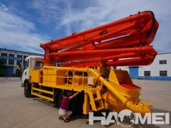 Principle for Warming up of Concrete Pump Truck